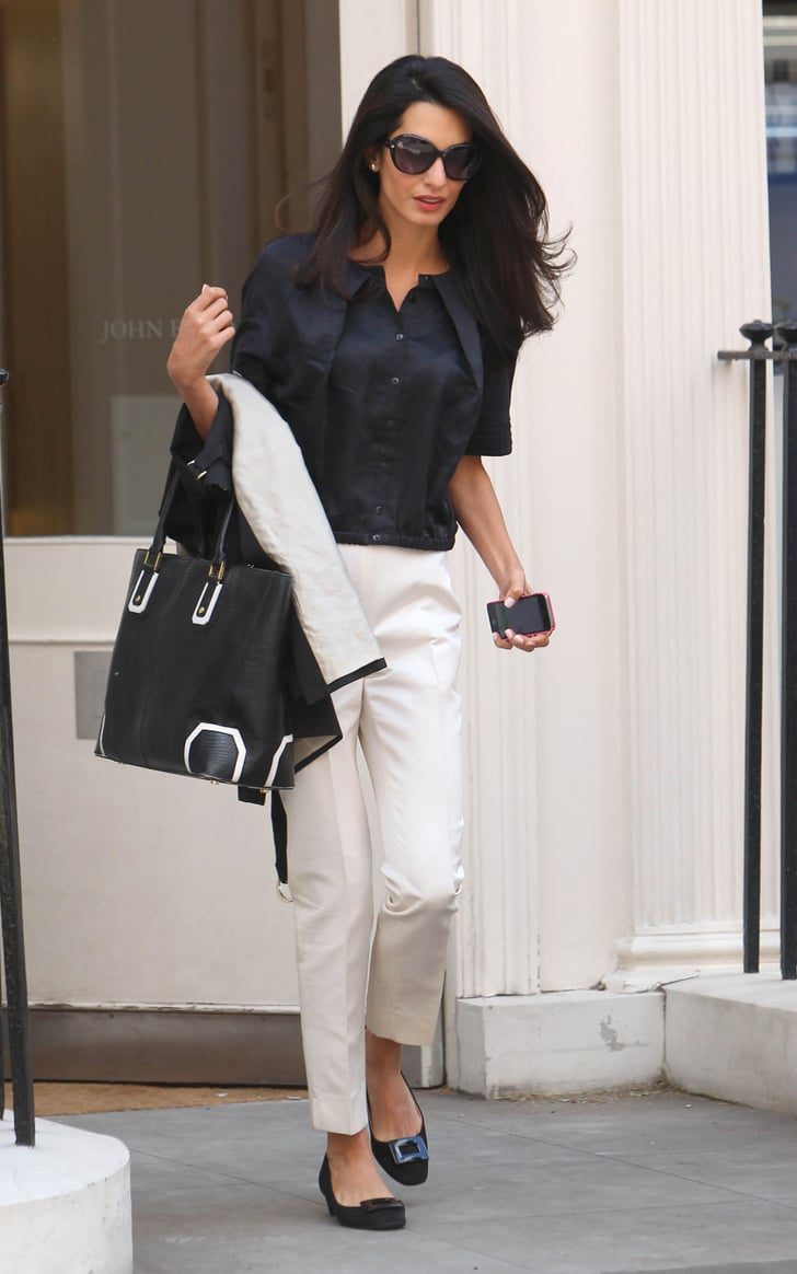 Find Inspiration From Your Idols Amal Clooney Work Outfit Ideas Popsugar Fashion Photo 10