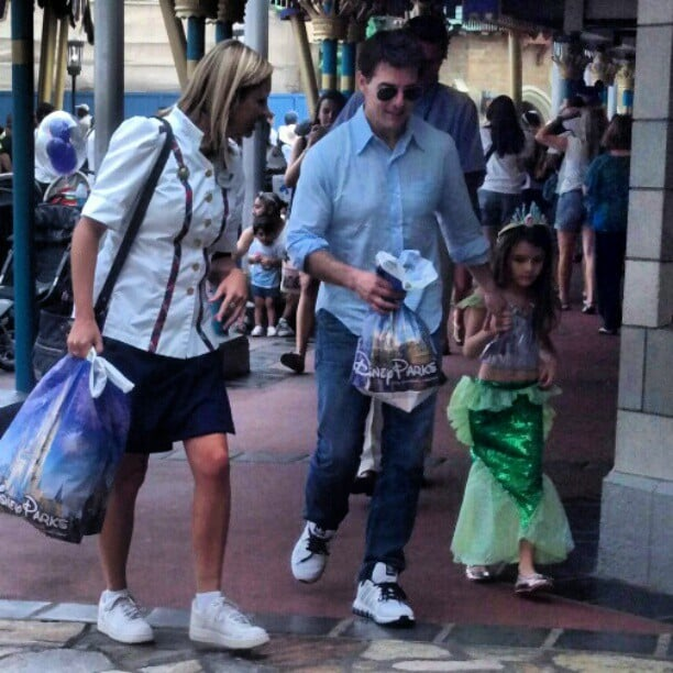 Tom Cruise and Suri Cruise went to Disney. Source: Instagram user alexfeoli