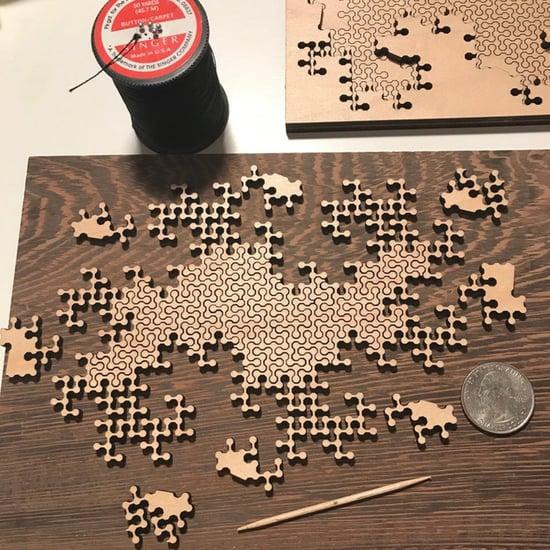 Shop the Coolest Geometric Wooden Fractal Puzzles