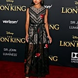 Pictured: Navia Robinson at The Lion King premiere in Hollywood.