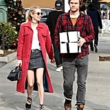 Emma Roberts and Evan Peters Out in LA December 2016