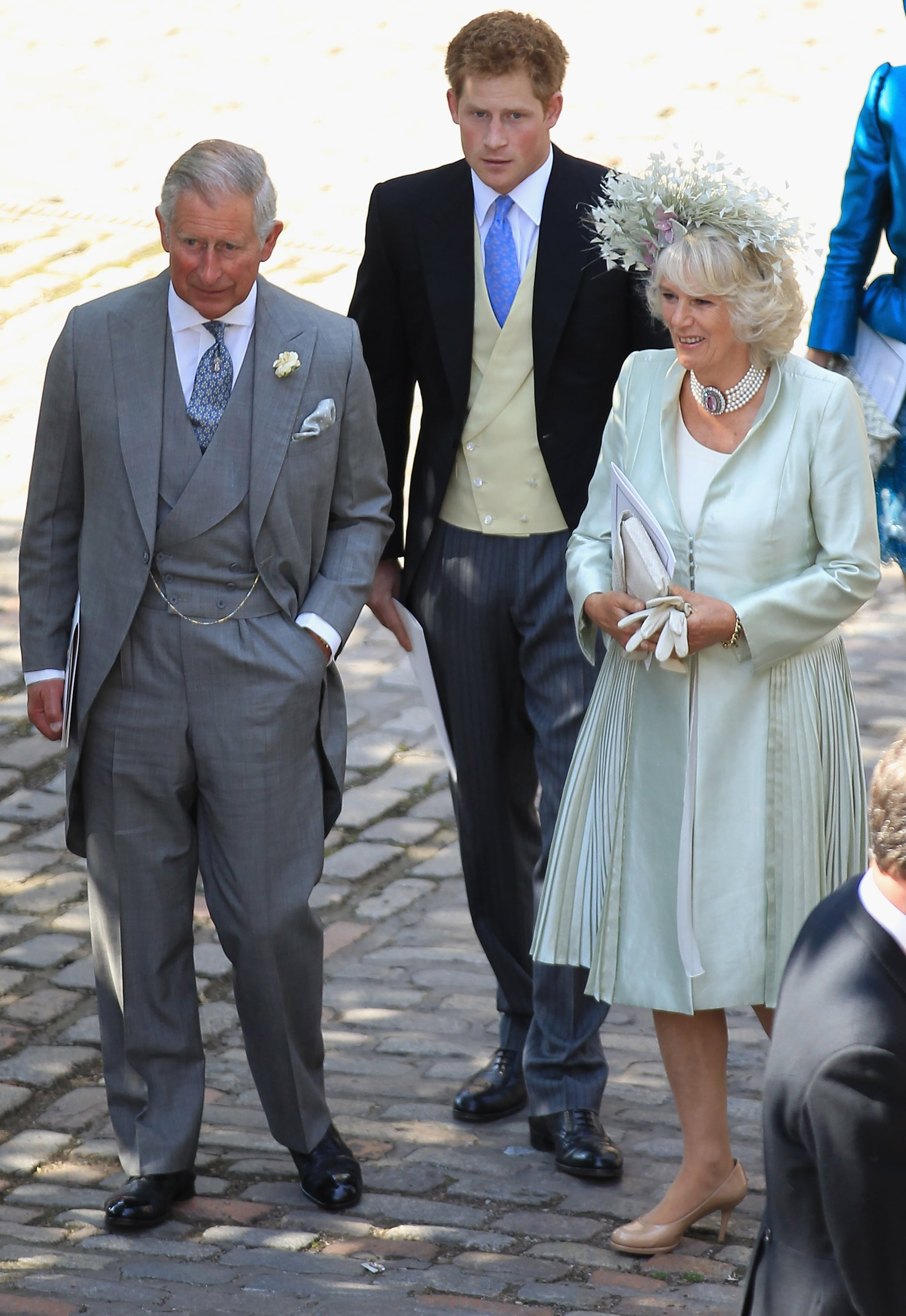 Prince Charles, Prince Harry and Camilla Duchess of Cornwall