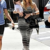 Rachel Zoe had a lunch date with son Skyler.