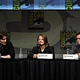 Sharlto Copley, Jodie Foster and Matt Damon were at Comic-Con.