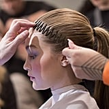 Stretchy Hair Comb at Prabal Gurung