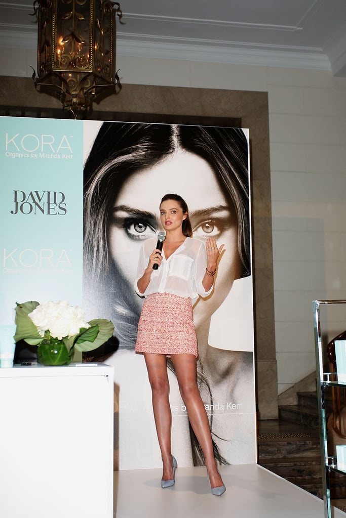 Miranda Kerr Promoting Kora Organics in Sydney Pictures
