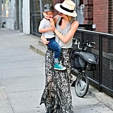 Miranda Kerr With Smiley Flynn Outing in NYC