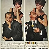 Night stalker Darren McGavin uses alcohol to liven things up with his wife.