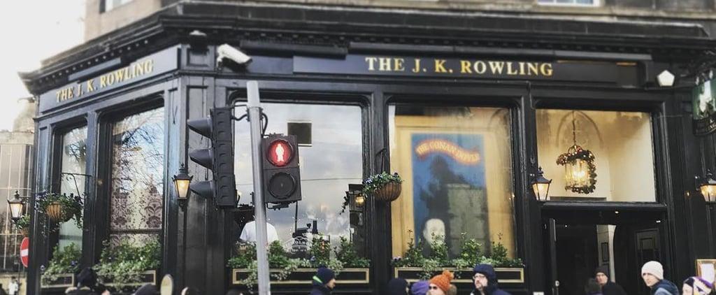 J.K. Rowling Pub in Edinburgh, Scotland
