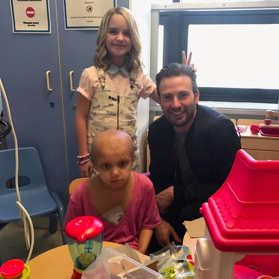 Chris Evans Visits Children's Hospital in LA March 2017