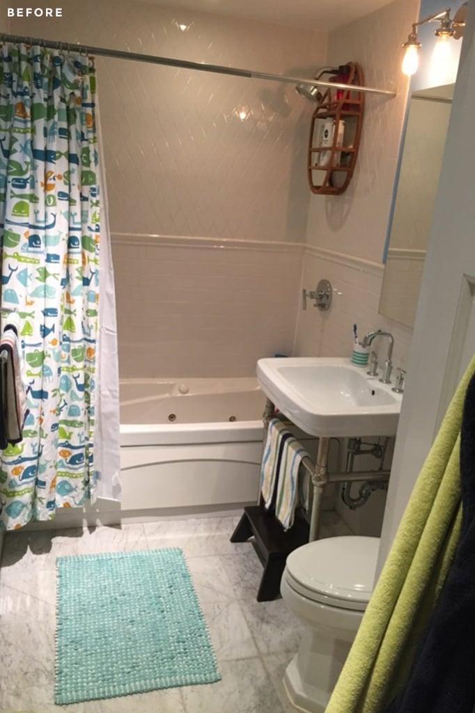Before: Sleek Shower Doors