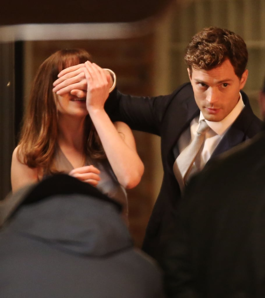 Ana (Dakota Johnson) just wanted to see his face.