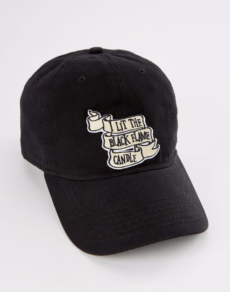 I Lit the Black Flame Candle Dad Hat ($20)