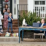 This family staged a hilarious photo shoot . . .