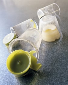 Casa Quickie: Cleaning Votive Holders
