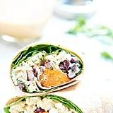 Easy Vegetarian Recipe: Vegetarian Sweet Potato Wrap