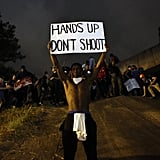 September 22: Activists protested the death of Keith Lamont Scott, who was killed by police in Charlotte, North Carolina.