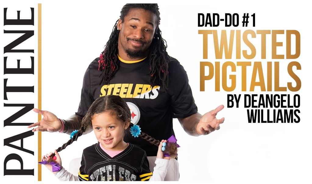 Your Heart Will Melt Watching These NFL Dads Style Their Daughters' Hair
