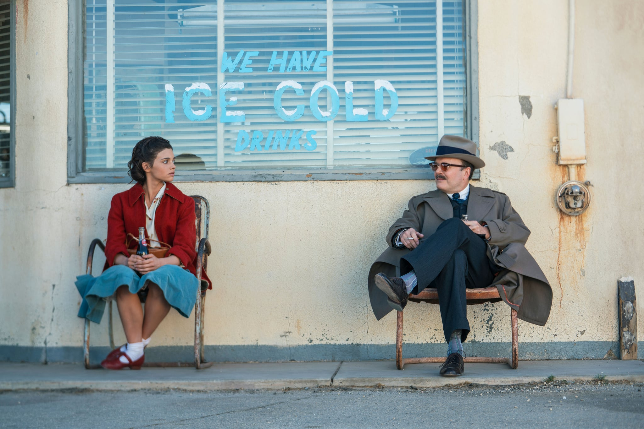 I AM THE NIGHT, from left: India Einsley, Jefferson Mays, 'One Day She'll Darken', (Season 1, ep. 101, aired January 28, 2019). photo: Clay Enos / TNT / courtesy Everett Collection