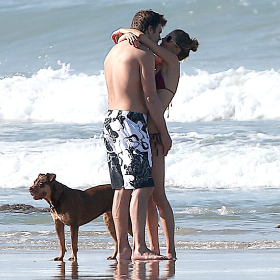 Gisele Bundchen and Tom Brady at the Beach Pictures 2014