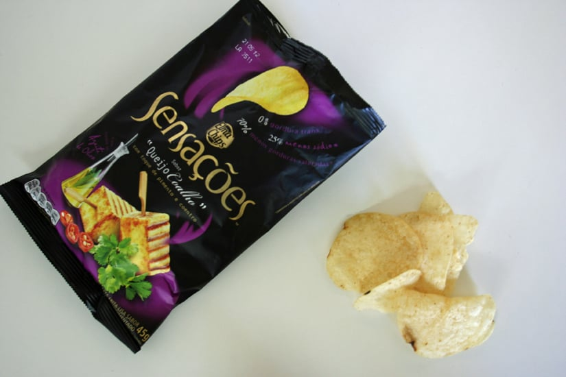 Elma Chips Brazil: Rennet Cheese With Pepper and Coriander