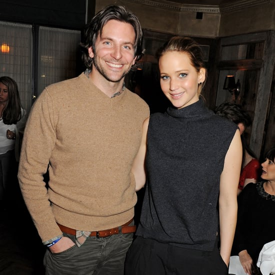 Jennifer Lawrence & Bradley Cooper In London: Silver Linings