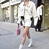 We've Got Heart Eyes For Bella Hadid's Tiny Pink Purse