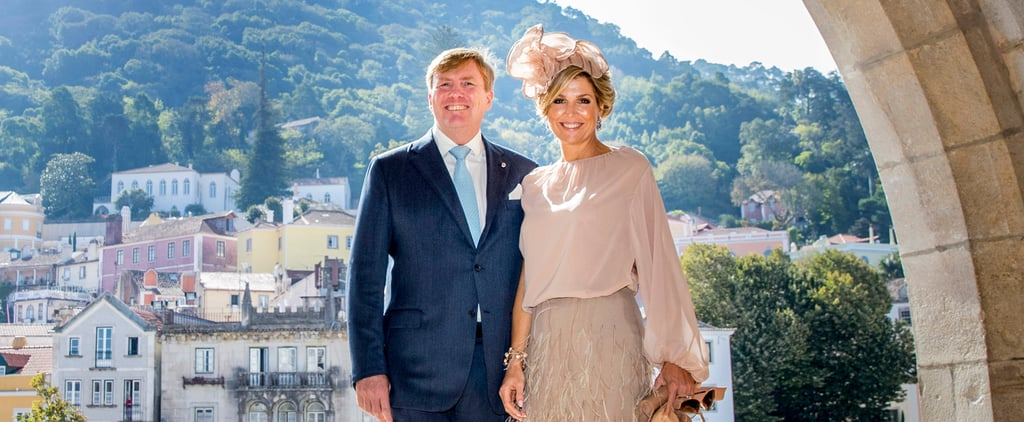 Queen Maxima's Feather Skirt