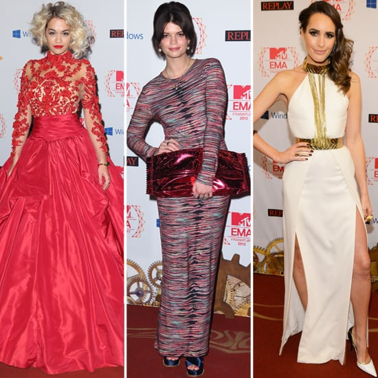 Rita Ora, Louise Roe and Pixie Geldof's Style at the EMAs