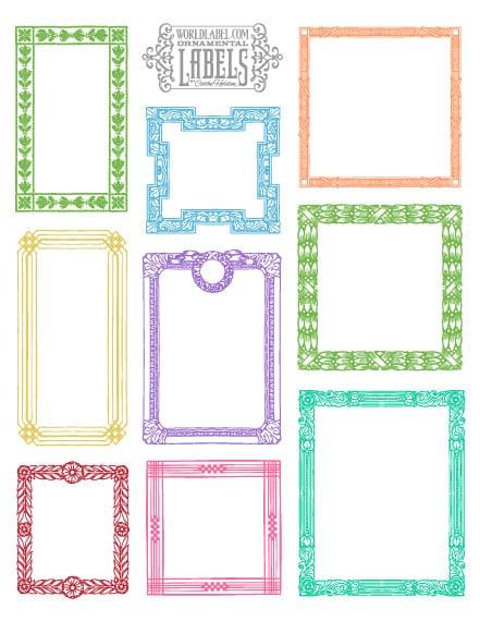 printable labels