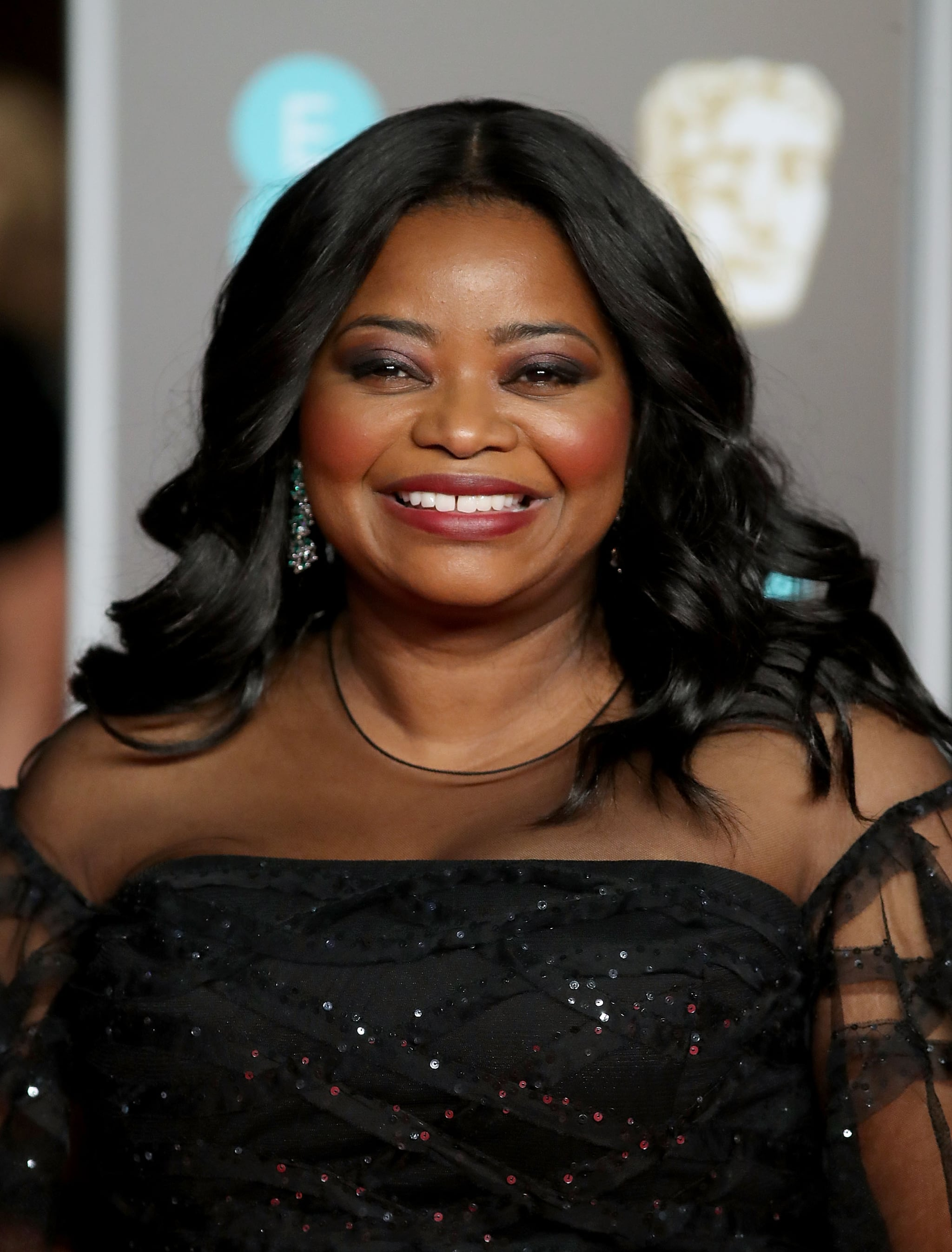 LONDON, ENGLAND - FEBRUARY 18:  Octavia Spencer attends the EE British Academy Film Awards (BAFTAs) held at Royal Albert Hall on February 18, 2018 in London, England.  (Photo by Mike Marsland/Mike Marsland/WireImage)