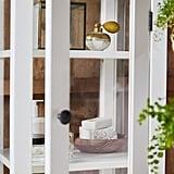 Hemnes High cabinet with glass door