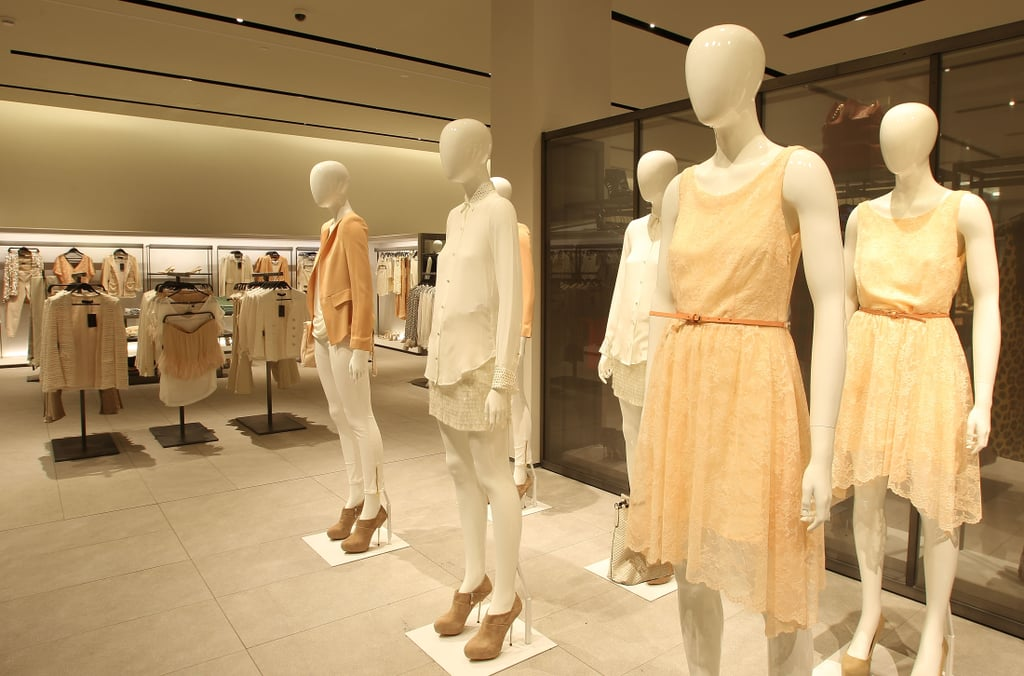 Peach perfection from the Zara Woman line on level one.