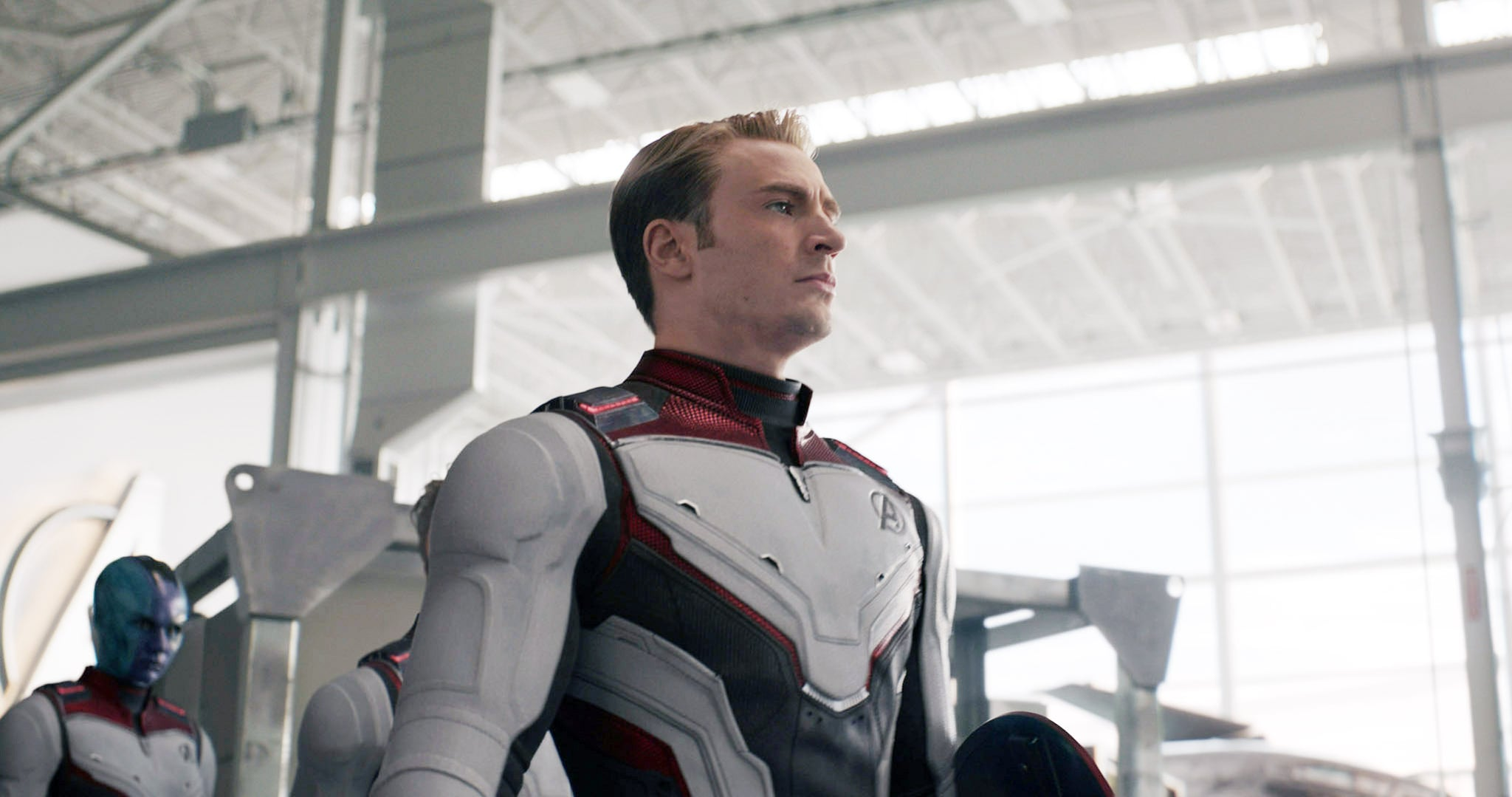 AVENGERS: ENDGAME, (aka AVENGERS 4), Chris Evans as Steve Rogers / Captain America, 2019.  Walt Disney Studios Motion Pictures /  Marvel Studios / courtesy Everett Collection
