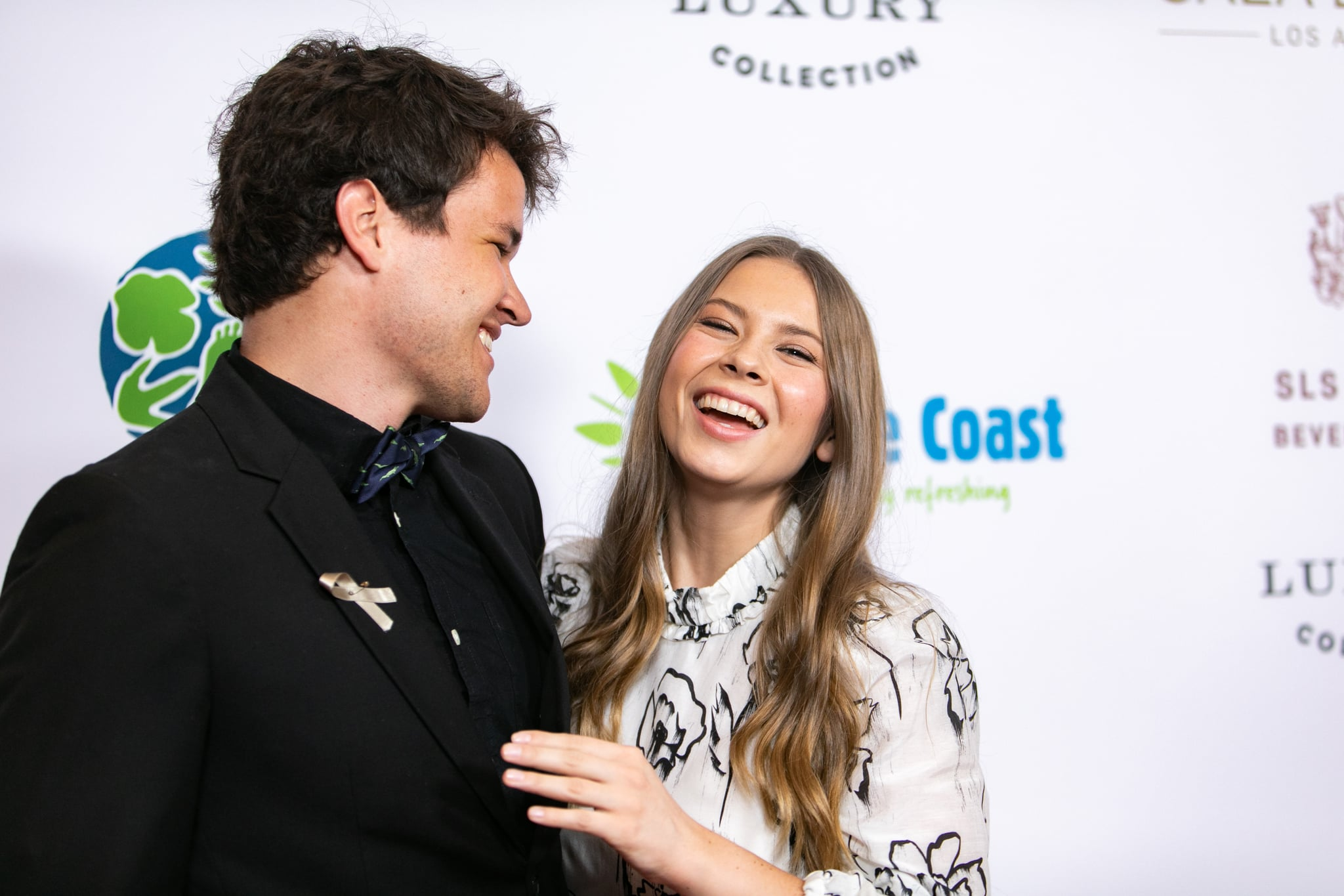 BEVERLY HILLS, CALIFORNIA - MAY 04: Chandler Powell and Bindi Irwin attend the Steve Irwin Gala Dinner at SLS Hotel on May 04, 2019 in Beverly Hills, California. (Photo by John Wolfsohn/Getty Images)