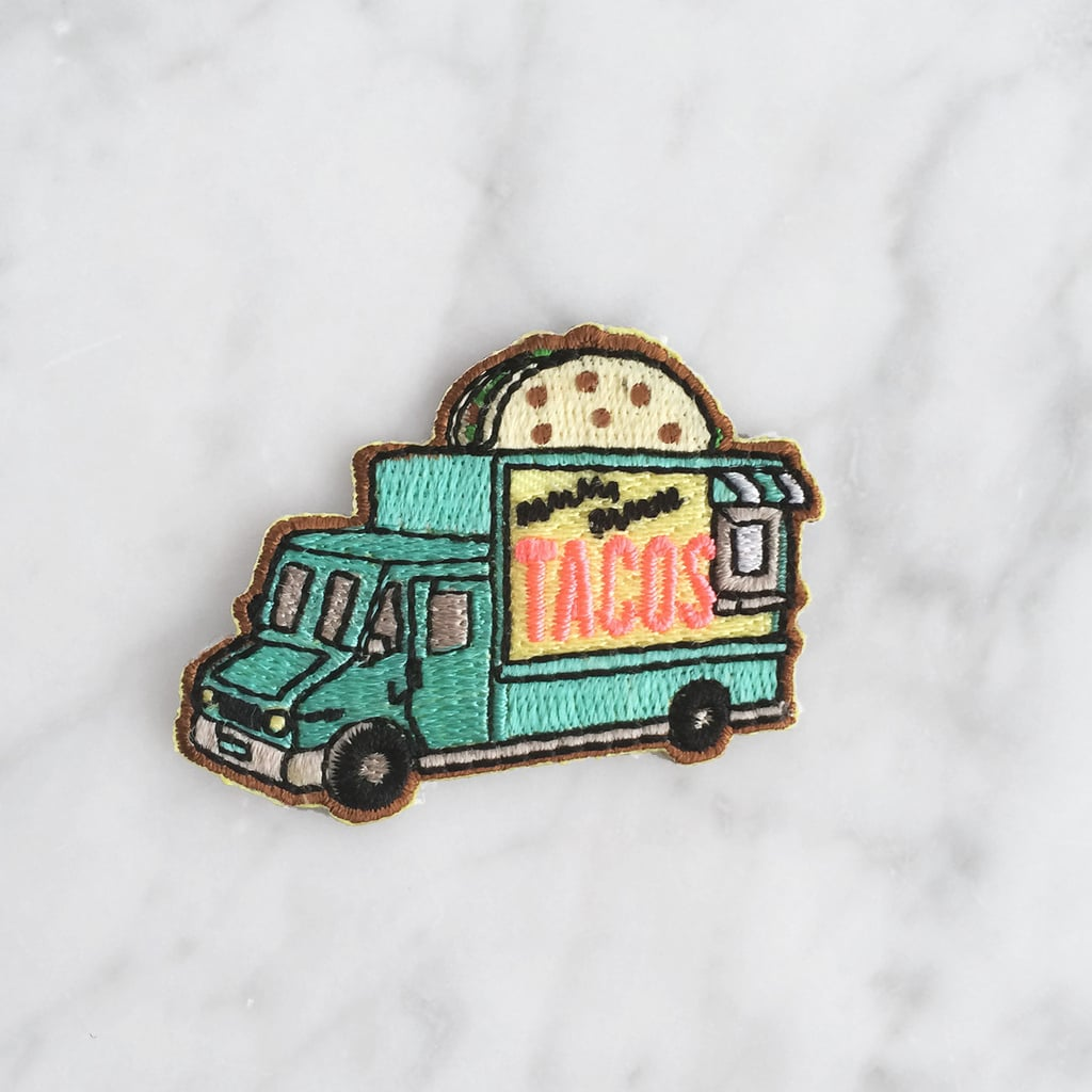 Taco Truck Jacket Patch