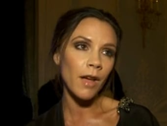 Video of Victoria Beckham Talking About Losing Out on Fashion Award and Label Growth