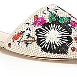 A Pair of Embroidered Mules