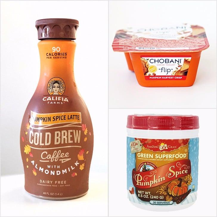 Healthy Pumpkin Spice Foods
