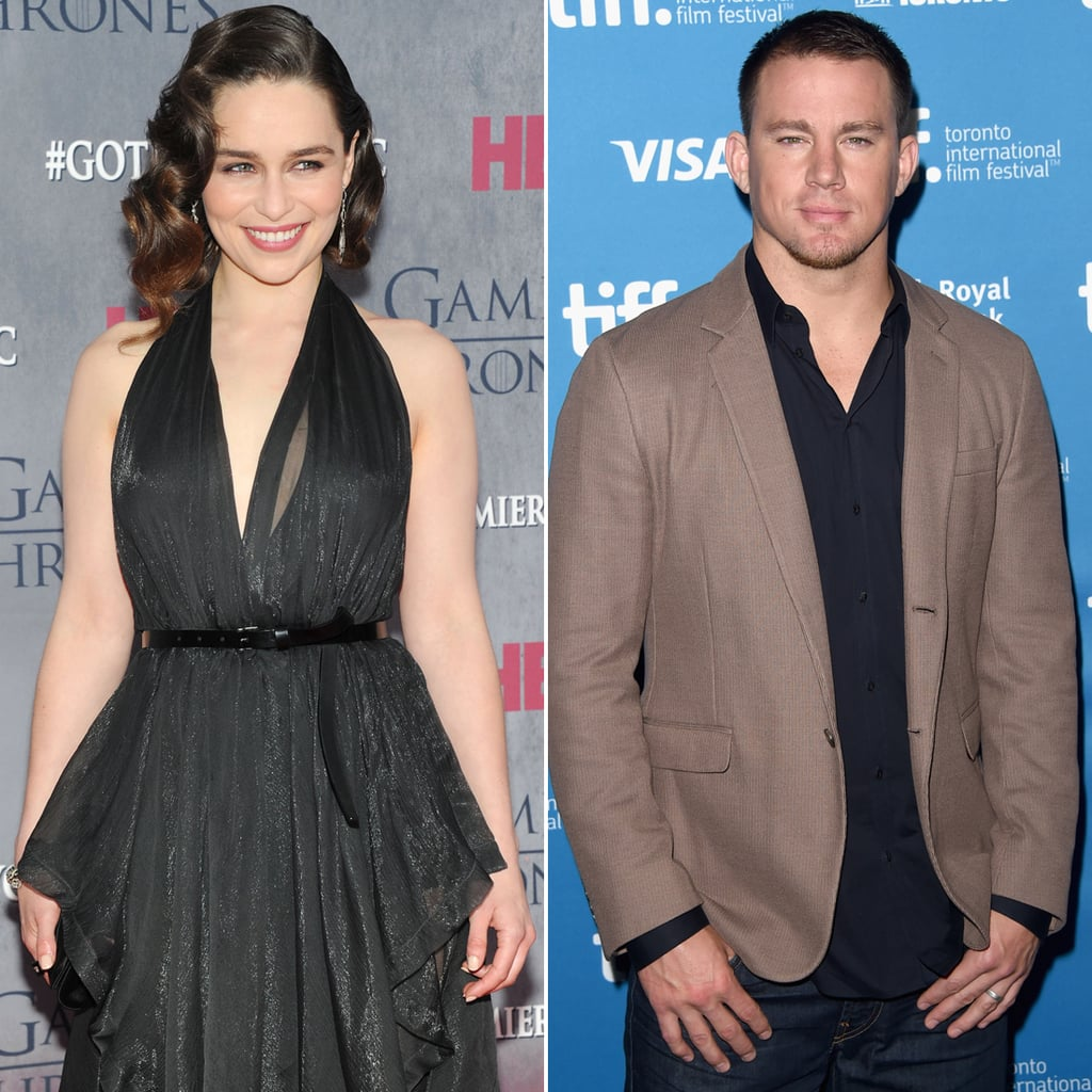 Emilia Clarke and Channing Tatum