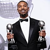 He took home not one, but two trophies at the NAACP Image Awards in February 2016.
