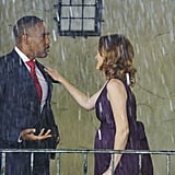 Jason George as Ben and Sarah Drew as April.