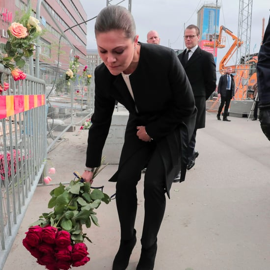 Princess Victoria Visits Stockholm Truck Attack Site 2017