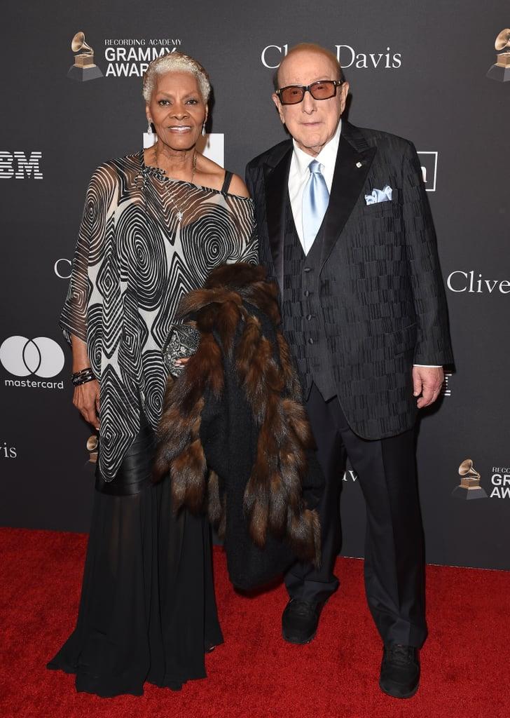 Dionne Warwick and Clive Davis