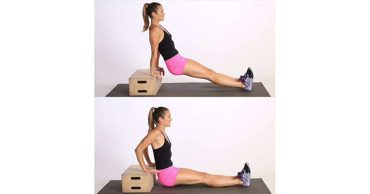 Circuit Two Triceps Dips Full Body Circuit Workout To