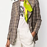 Yves Saint Laurent Pre-Owned Striped Print Scarf