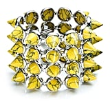 Four Layer Gemstone Cone Bracelet, $815