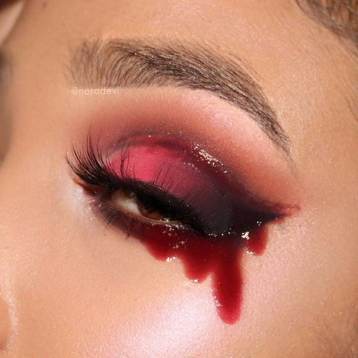 Gory Halloween Eye Makeup | POPSUGAR Beauty