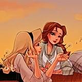 Aurora and Belle