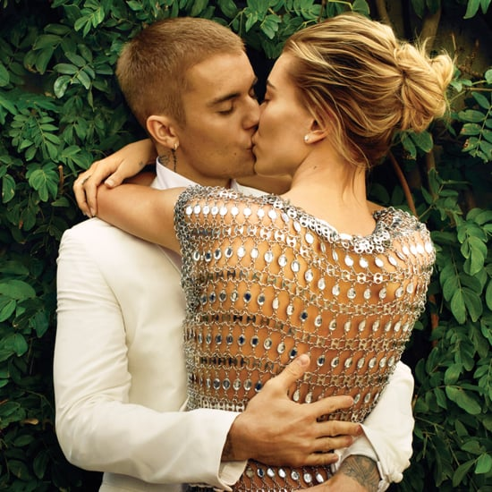 Hailey Baldwin and Justin Bieber in Vogue March 2019